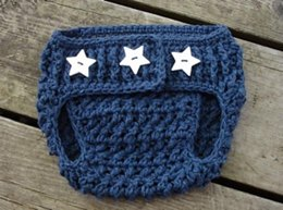 Stars & Stripes Diaper Cover