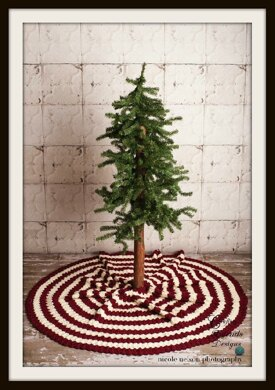 Diamond Christmas Tree Skirt Crochet Pattern By Crafting Friends
