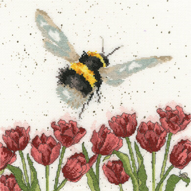 Bothy Threads Flight of the Bumblebee Cross Stitch Kit
