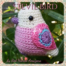Stevie the Amigurumi Bird