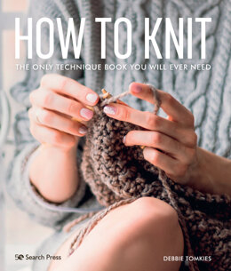 How to Knit by Debbie Tomkies