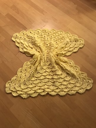 Fluffy Meringue Baby Blanket Crochet Project By Konstantinia Babouli