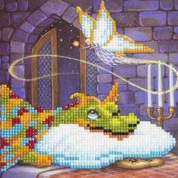 Craft Buddy Dragon & The Cookie Fairy Crystal Card Kit