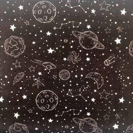 Craft Cotton Company Outer Space - Ship
