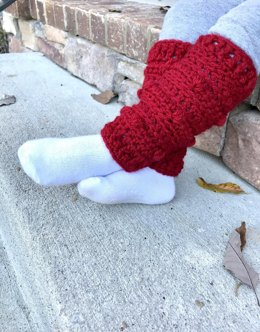 Snow Drifts Leg Warmers