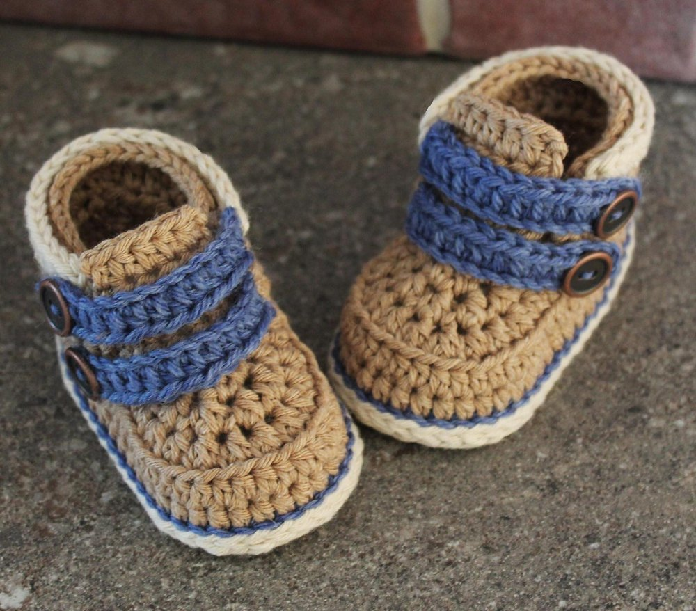 Cairo boot crochet pattern by inventorium for 4 4422 c