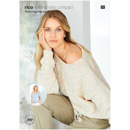 Sweater & Top in Rico Creative Lazy Hazy Summer Cotton DK - KIC999 - Downloadable PDF