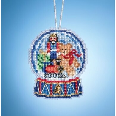 Mill Hill Charmed Snow Globes - Toy Shop Globe - 2.5inx3.25in