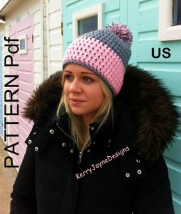 Crochet hat pattern Trendy USA