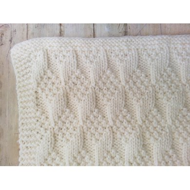Bulky Baby Blanket Knitting Pattern : Bulky Baby Blocks Blanket Knitting pattern by heaventoseven