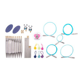 "HiyaHiya Sharp Ultimate Knitting Gift Sets 12cm (5"") Large Interchangeable Tips Needle"