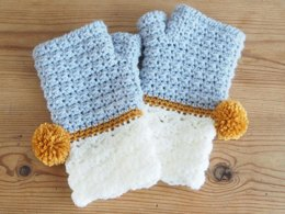 Snow Dipped Mitts
