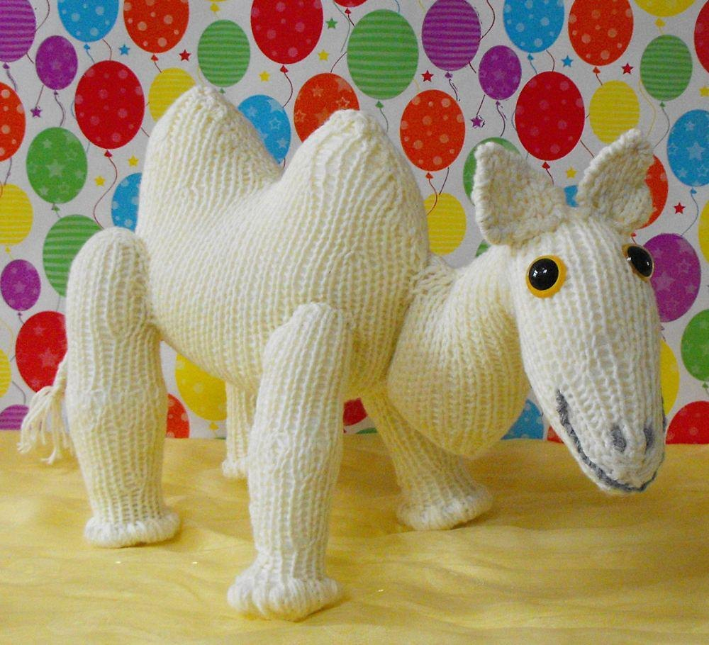 NURSERY CAMEL TOY KNITTING PATTERN - MADMONKEYKNITS Knitting pattern ...