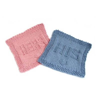 His and Hers Washcloths