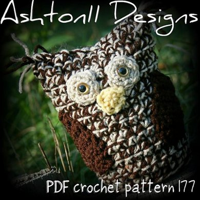 Crochet Owl Pattern by Ashton11