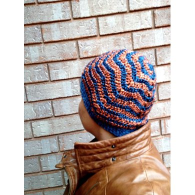 Chevy Head Hat (Crocheted)