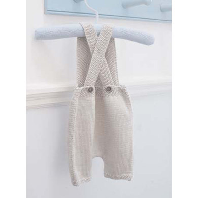 Florence Dungarees In Debbie Bliss Baby Cashmerino Cmc12