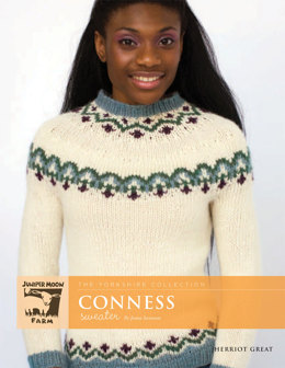 Conness Sweater in Juniper Moon Herriot Great - J12-03 - Downloadable PDF