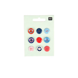 Rico Navy Button Mix