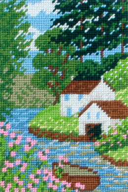 Twilleys Down by the River Tapestry Kit - 15 x 23 cm