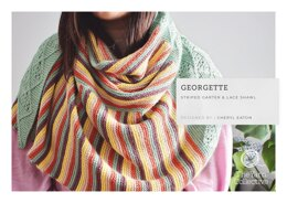 Georgette Shawl by Cheryl Eaton in The Yarn Collective - Downloadable PDF
