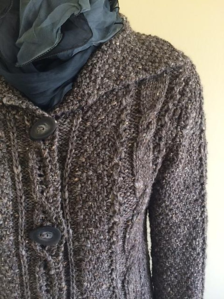 Willoughby Cardigan Knitting Pattern By Donna Estin Designs