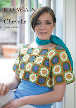 Chevelle Sweater in Rowan Cotton Glace