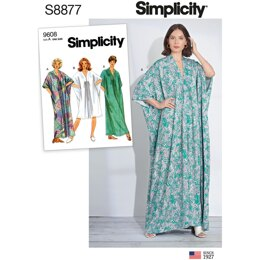 Simplicity S8877 Misses Caftan - Paper Pattern, Size OS (ONE SIZE)