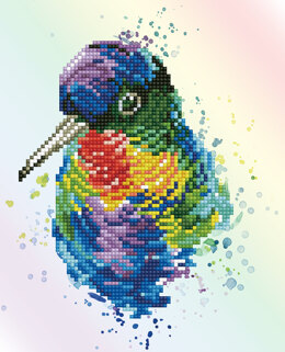 Diamond Dotz Rainbow Feathers Diamond Painting Kit