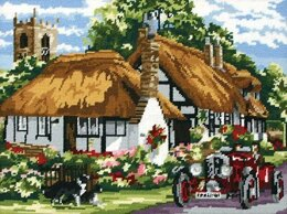 Anchor The Village of Welford Needlepoint Kit - 40 x 30 cm