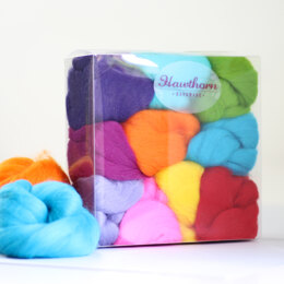 Hawthorn Handmade Brights Felting Wool Bundle