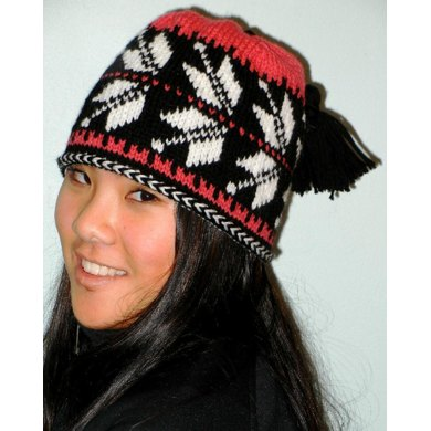 Telemark Ski Hat Knitting Pattern By Idle Hands Knits