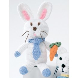 Baby's Bunny Toy in Lily Sugar 'n Cream Solids