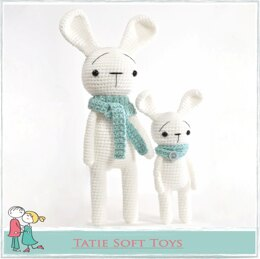 Amigurumi Straight Bunny Rabbit 2 in 1