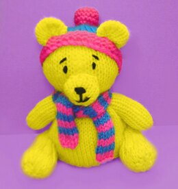 Winter Wishes Christmas Teddy Bear