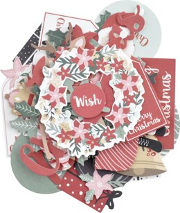Kaisercraft Collectables Cardstock Die-Cuts - Peppermint Kisses