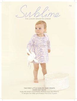 The First Little Sublime Baby Prints Hand Knit Book by Sublime