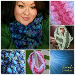 Bobble Along Infinity Scarf