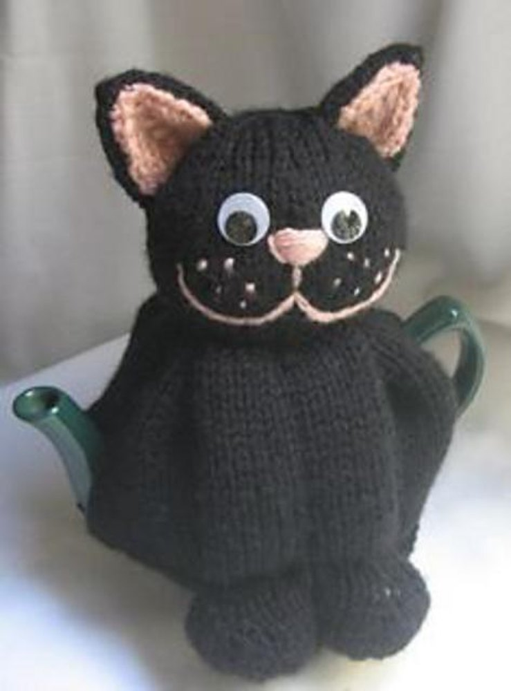 Cat Tea Cosy Knitting Pattern By Rian Anderson Knitting Patterns