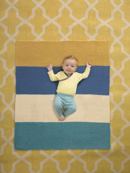 Myringham Baby Afghan  in Lion Brand Vanna's Style - L60095 - Downloadable PDF
