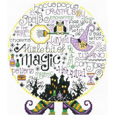 Imaginating Let's Be Magical (14 Count) - 8.3in x 9.4in