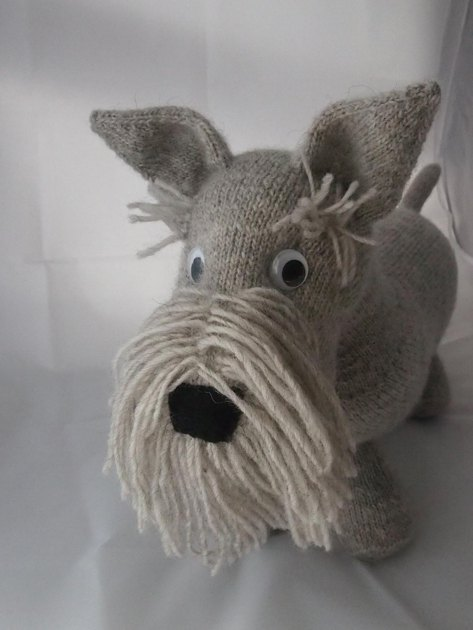 Scottie Dog Knitting Pattern By Browneyedbabs