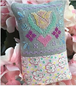 Luhu Stitches Little Spring Fling - May - Downloadable PDF