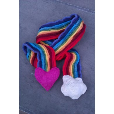 Love and Rainbows Scarves