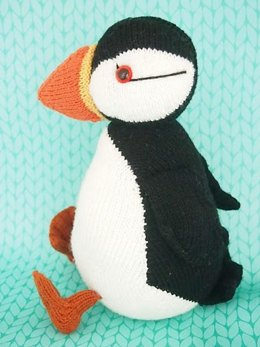 Jamie the Shetland Puffin