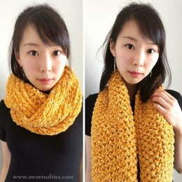 Gold Luxe Cowl