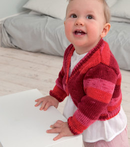Baby Cardigans in Rico Baby So Soft Print DK - 217 - Downloadable PDF