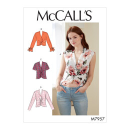 McCall's Misses' Tops M7957 - Sewing Pattern
