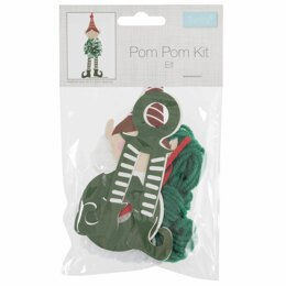 Groves Pom Pom Decoration Kit: Elf
