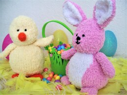 Easter Chick Bunny Toys BB004